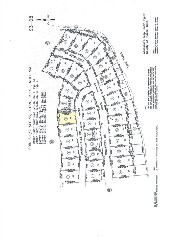Image for 3325 Dardanelles Avenue, Tahoe City, CA 96145