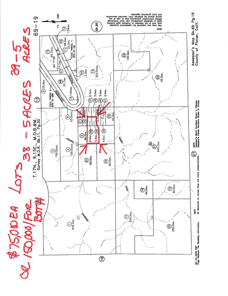 Image for 0000 Cold Stream Road, Donner Lake, CA 96161