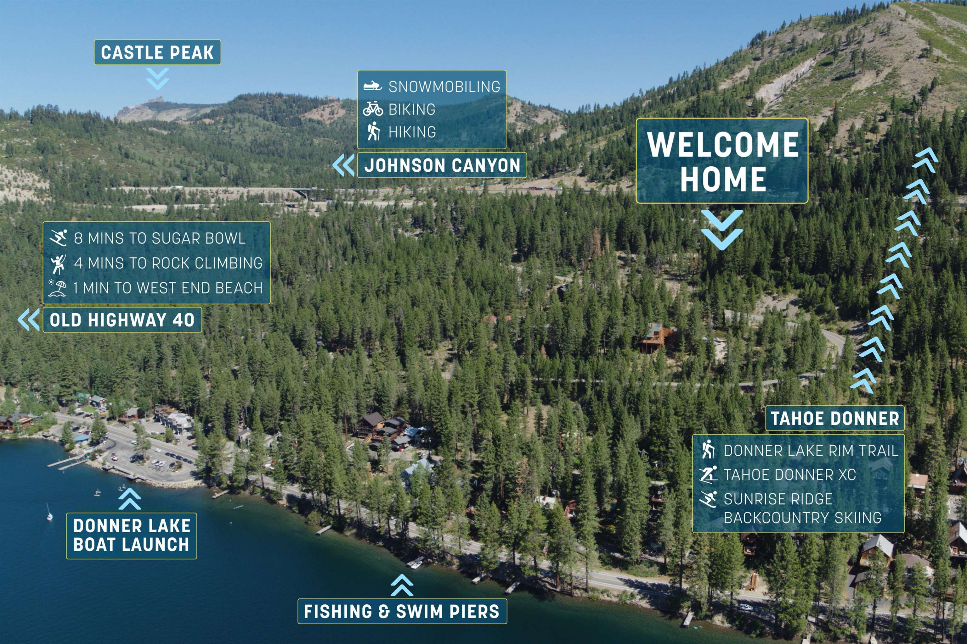 Image for 10547 Donner Lake Road, Truckee, CA 96161