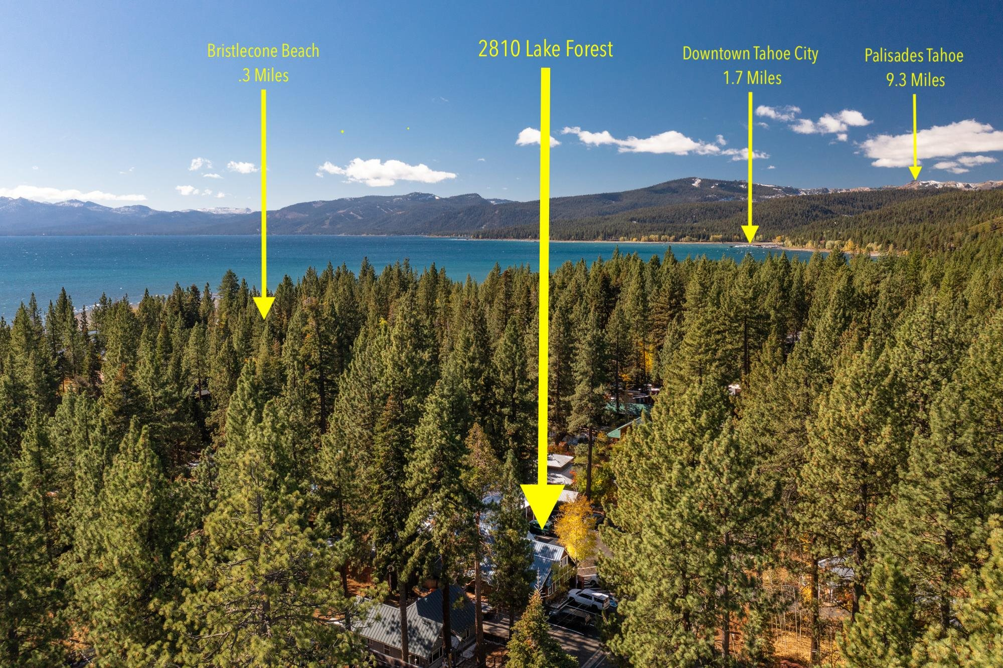 Image for 2810 Lake Forest Road, Tahoe City, CA 96145